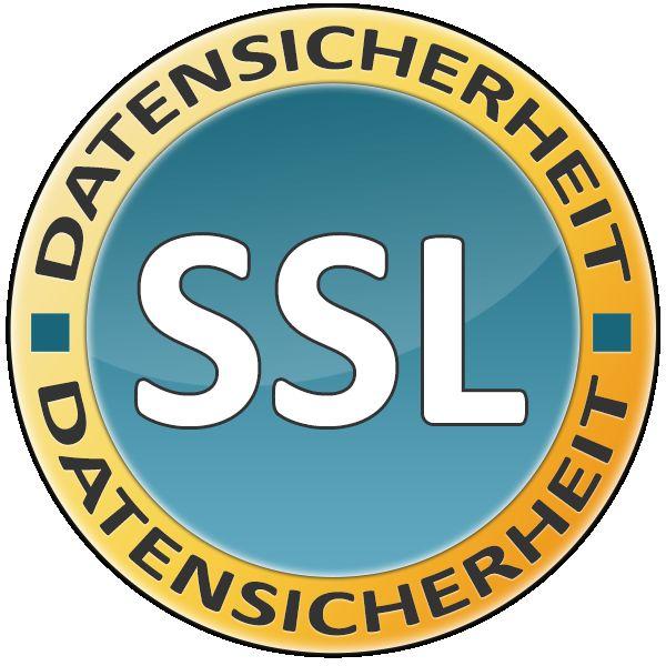 Shop komplett SSL-Verschlüsselt